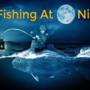 Christmas Gifts For Bass Fishermen - Bass Fishing At Night